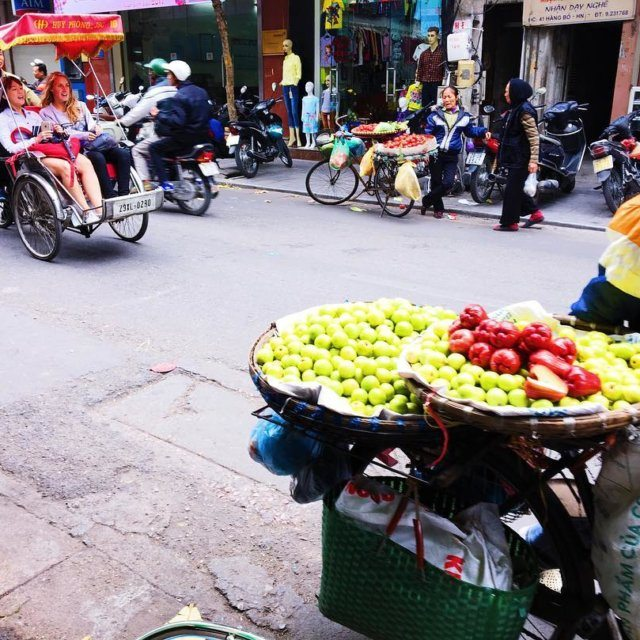 throwback to vietnam and hanoi busy streets