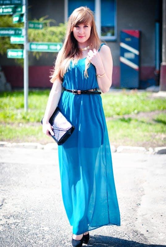 Tranparent dress