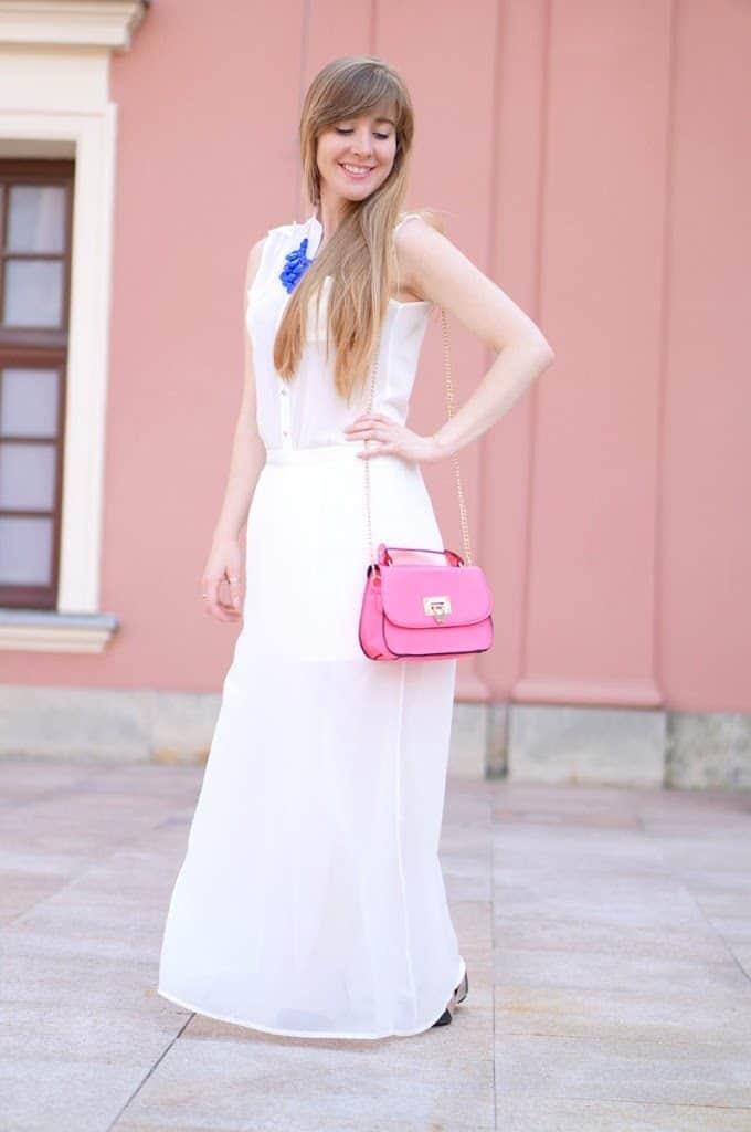 Maxi in white