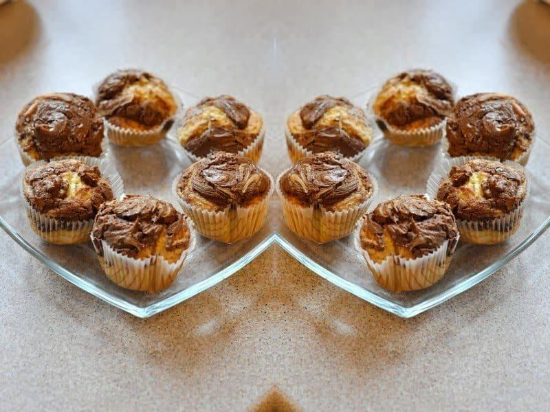 Muffinki z Nutellą – pomysł na Walentynki