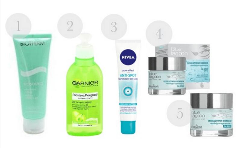 Moja pielęgnacja twarzy – kosmetyki do skóry mieszanej