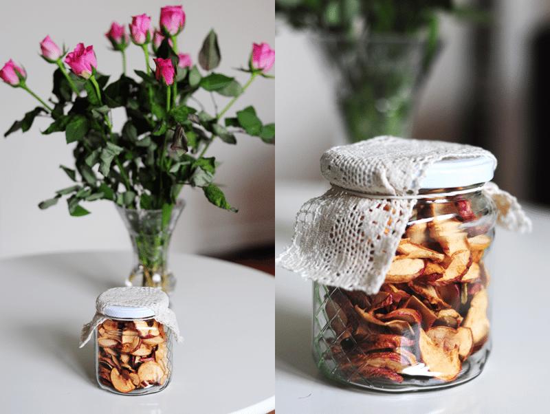 Domowe suszone jabłka – przygotowania do jesieni