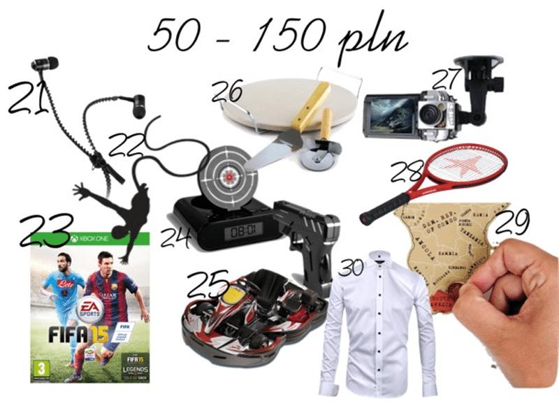 prezenty dla chłopaka najlepsze do 150 zł