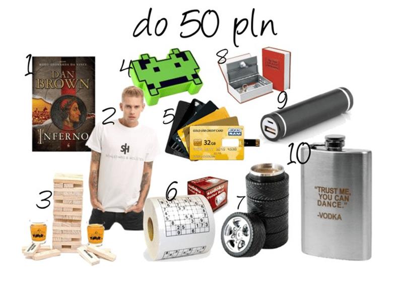 prezenty na dzień chłopaka do 50 zł