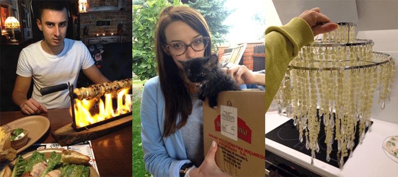 różne zdjęcia św michał płonący obiad modnakomoda z kotem oli