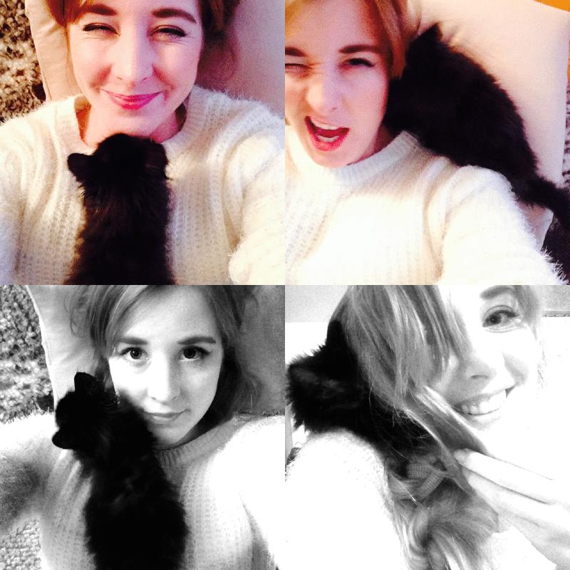 selfie bez kota nie ma sensu
