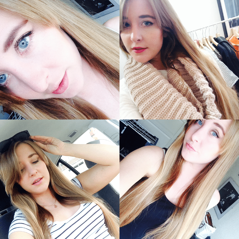 selfie blogger