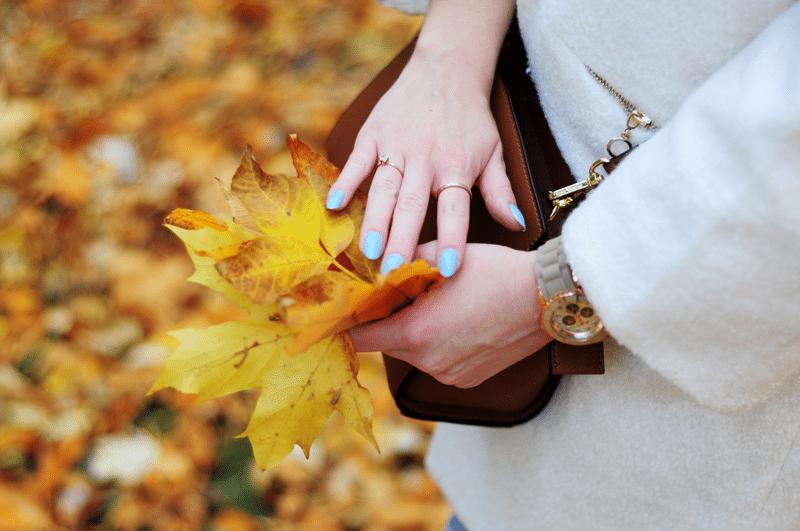 złota jesień pierścionki kors polska park saski lublin