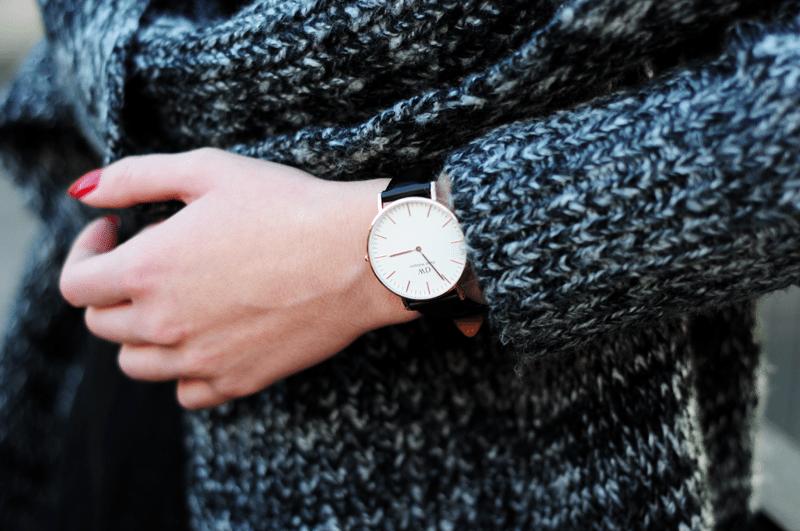daniel wellington prosty klasyczny zegarek