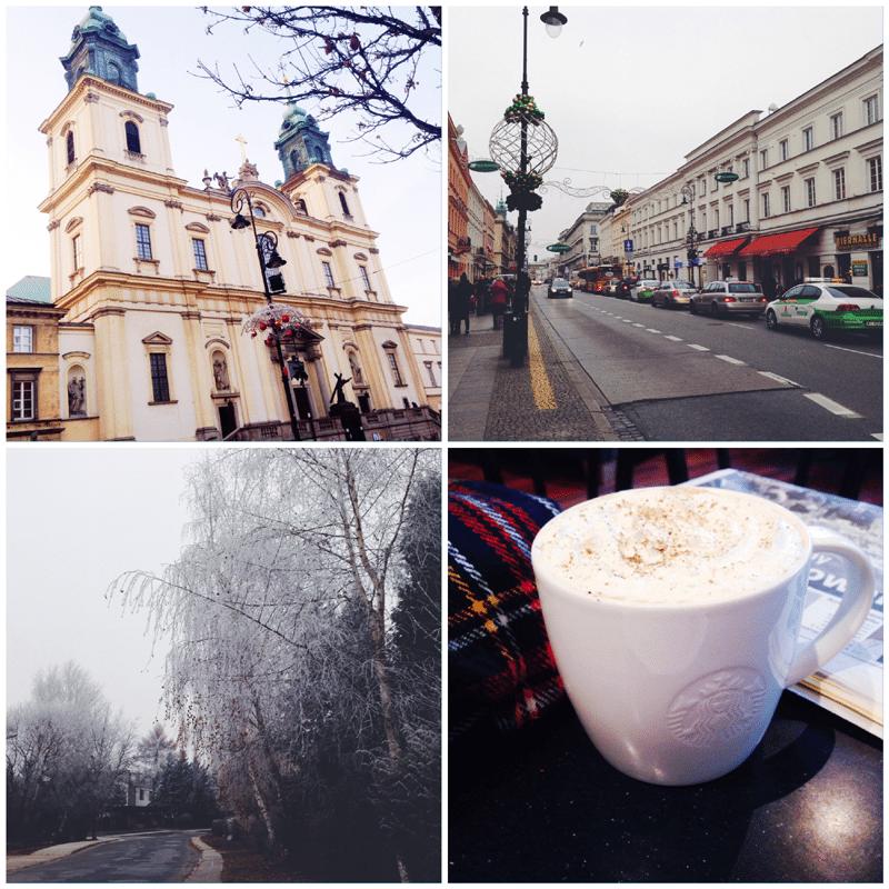 początek zimy spacer po warszawie stare miasto