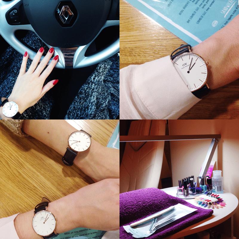 ulubiony zegarek w listopadzie daniel wellington