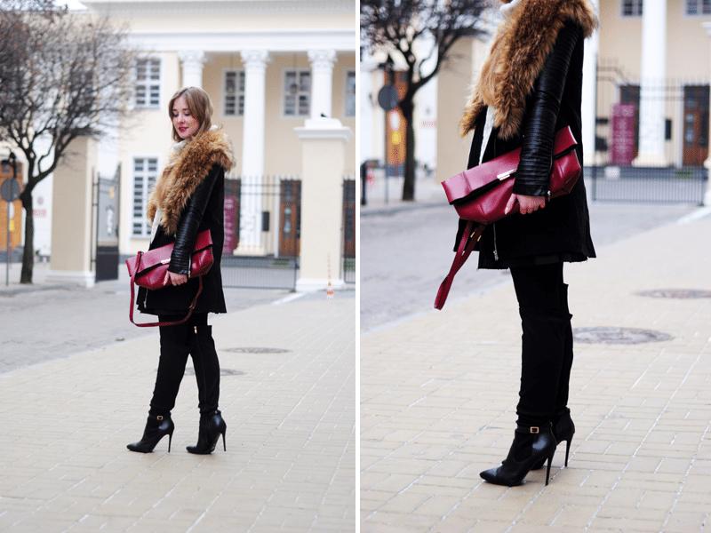 zimowy płaszcz sheinside