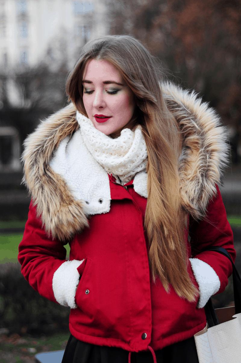 najlepsza kurtka na złą pogodę ootd deszcz śnieg