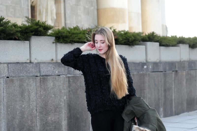 zdjęcia pałac kultury puchaty sweter