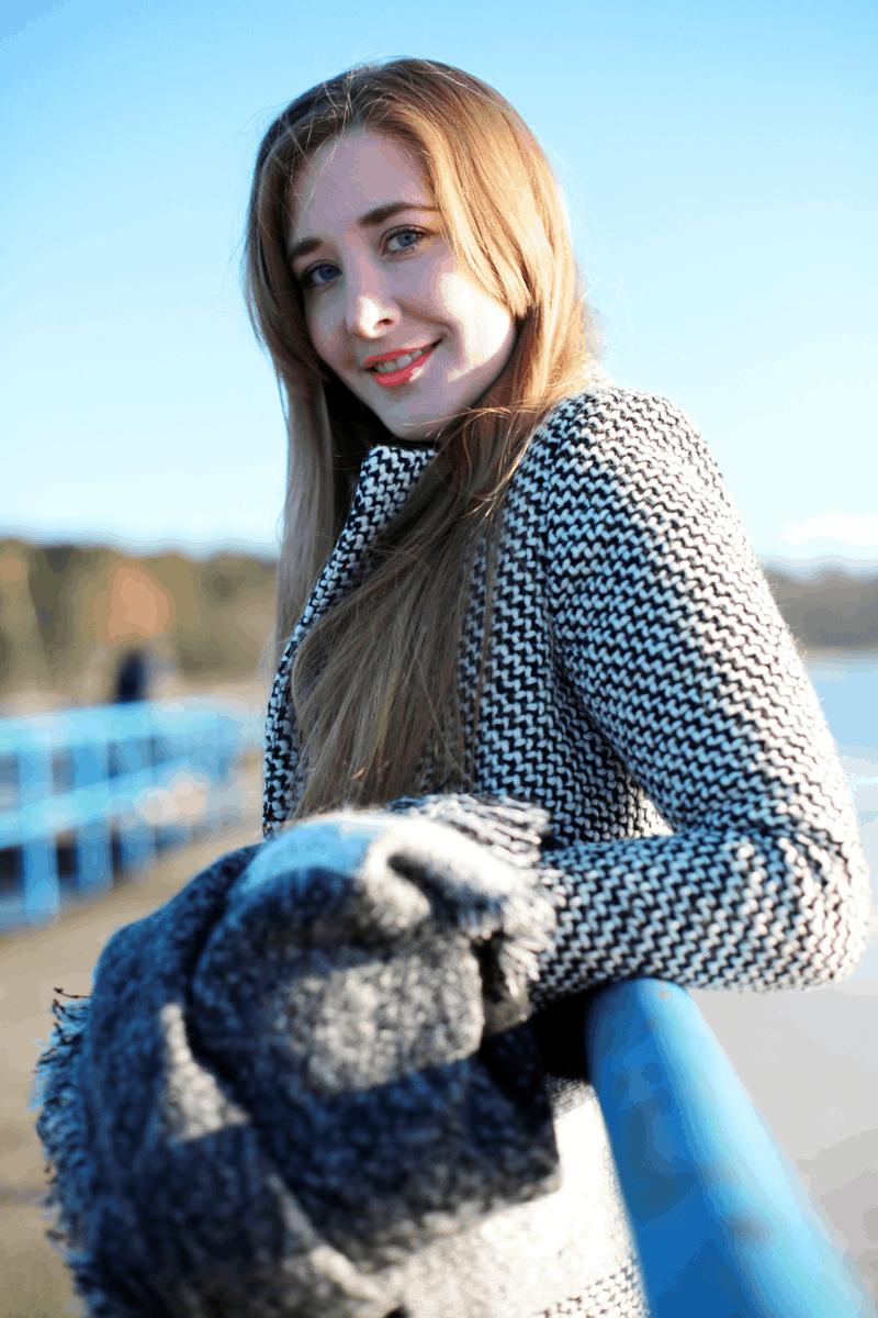 słońce wiosna ootd blond