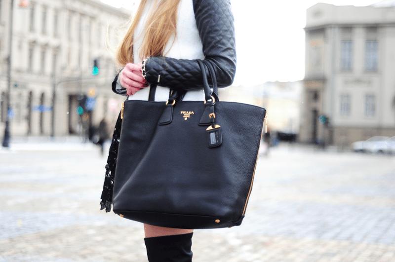 torba shopper prada marieantoinette blogerki z lublina