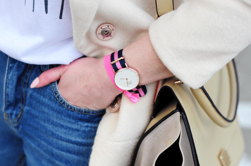 daniel wellington idealny minimalistyczny zegarek na wiosnę