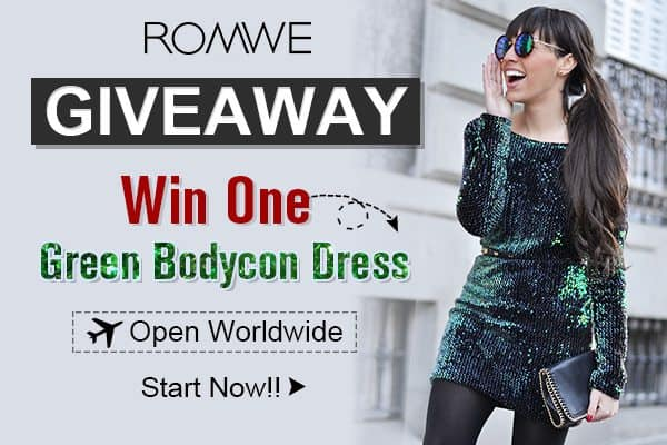 Rozdanie Romwe! | Romwe Sequin Dress Giveaway Open Worldwide!