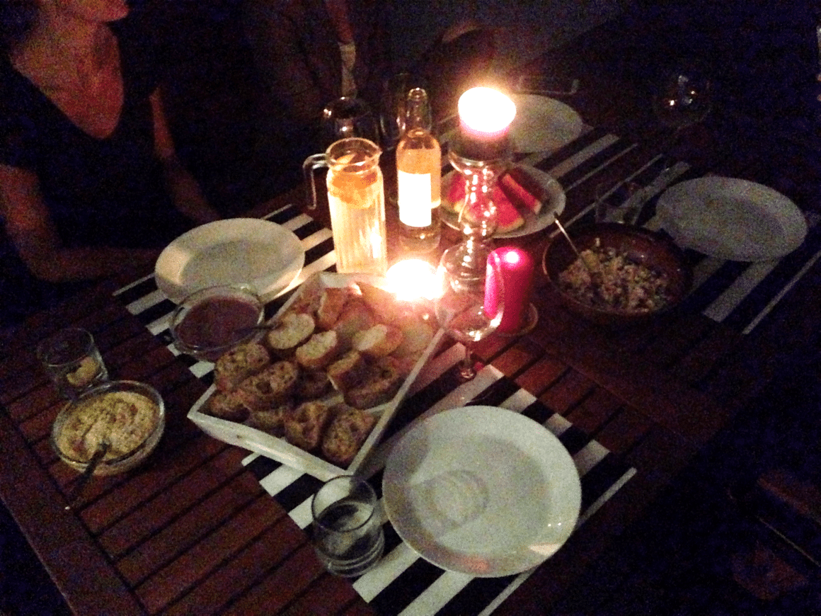 kolacja u lumpexoholiczki