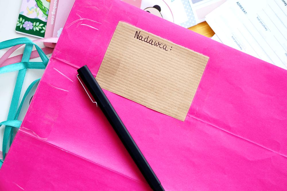 kolorowe listy polecone diy czy można wysyłać