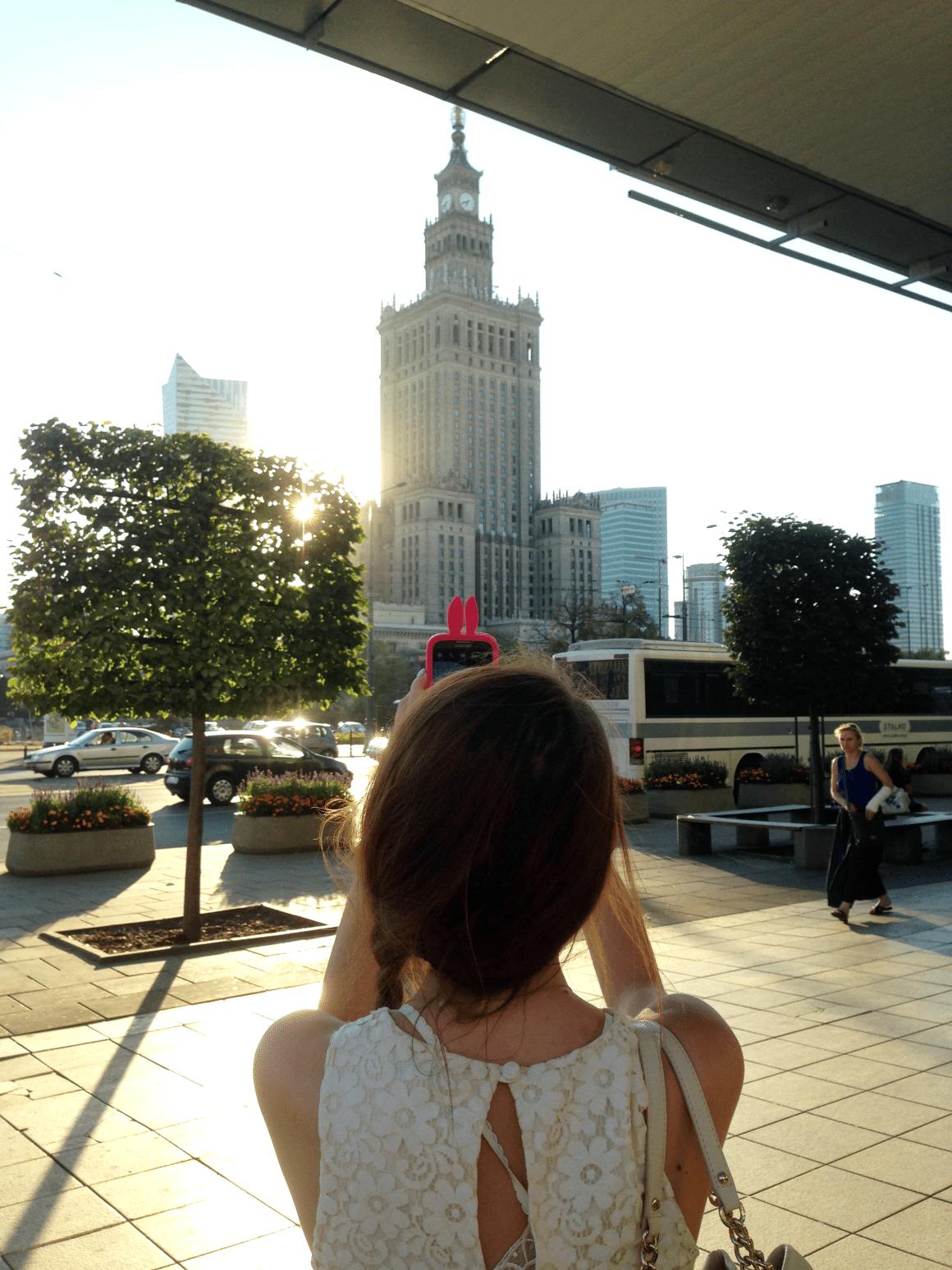 modnakomoda pałac kultury i nauki warszawa warsaw iphone case
