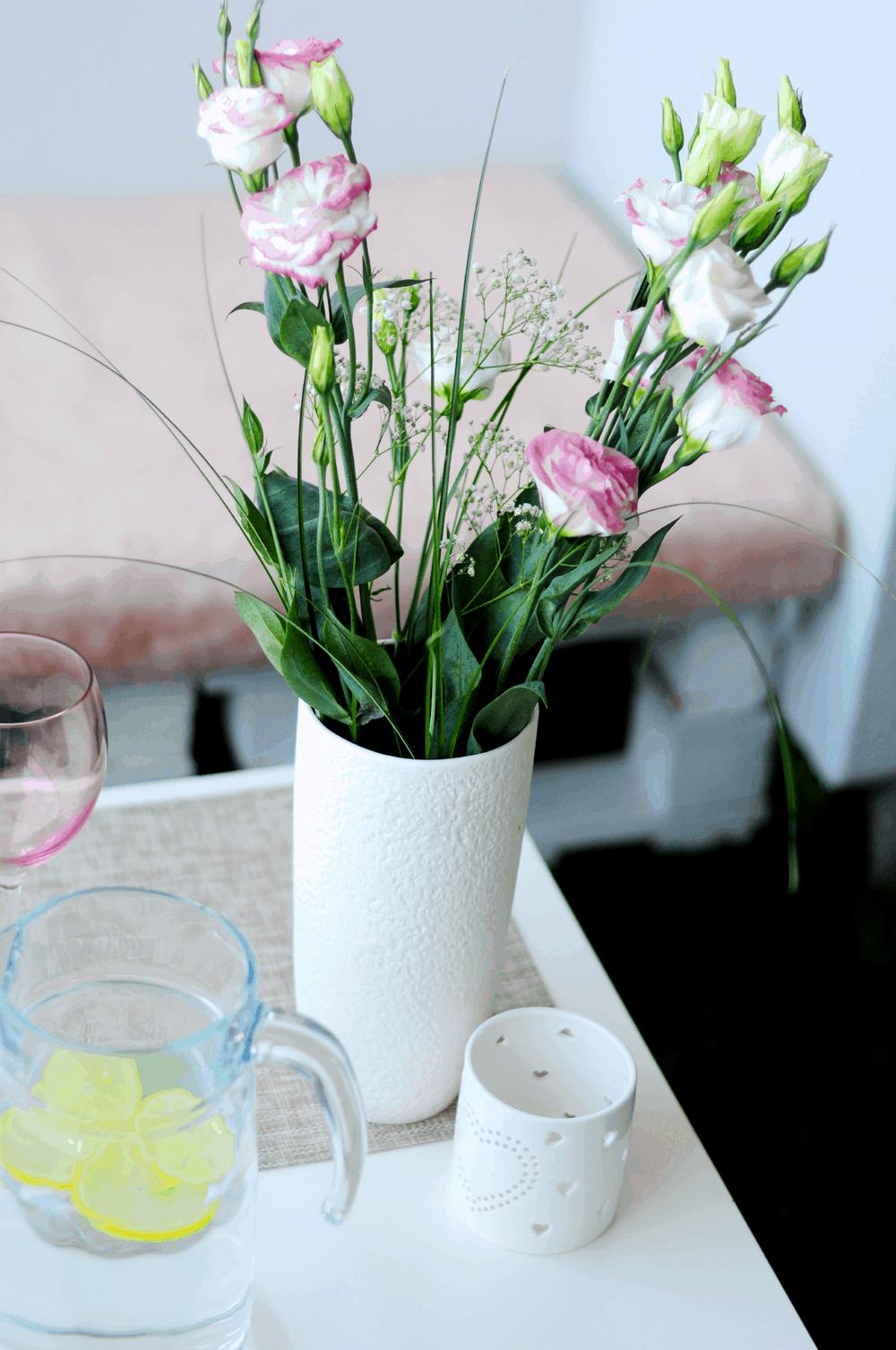 róże wazon F&F idealny balkon