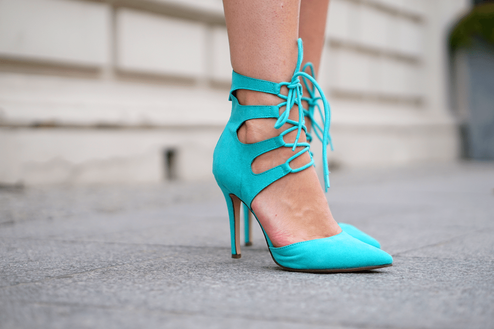 szpilki aqua aquamarine heels ami clubwear