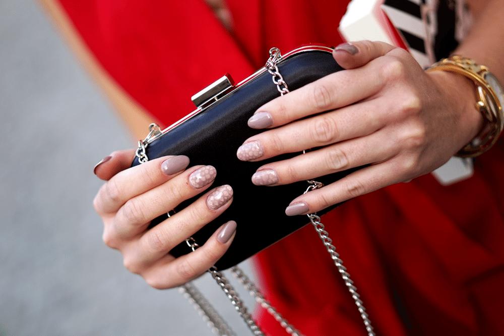 kopertówka F&F paznokcie salon urody anna łączewska pearls of beauty
