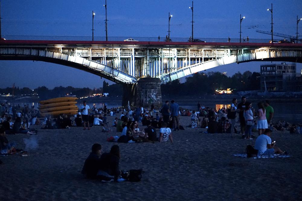 most poniatowskiego noc warszawa