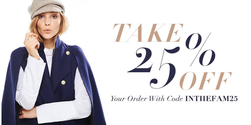Wielka wyprzedaż na SHOPBOP – kup ubrania i dodatki od projektantów 25% taniej!
