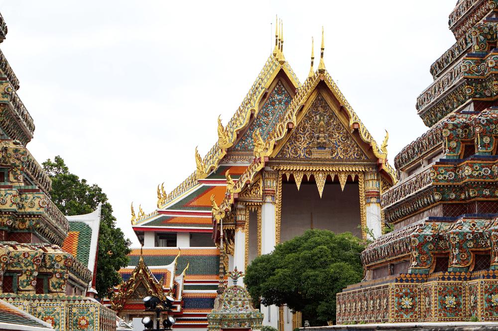 świątynia buddy bangkok budynki