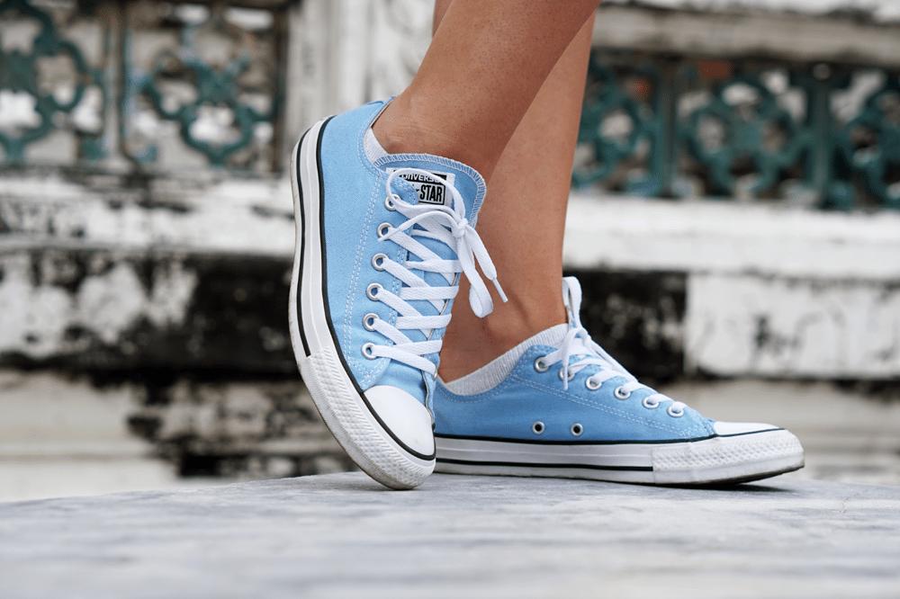 błękitne conversy shopbop