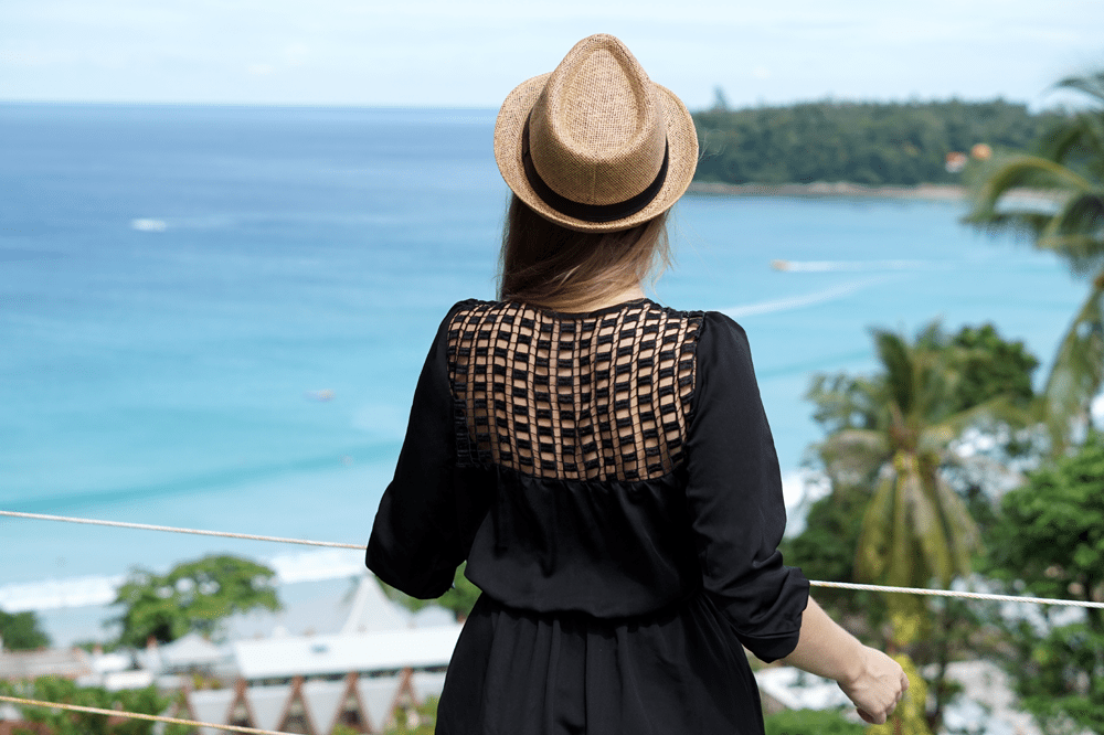 tajlandia phuket widok z hotelu morze