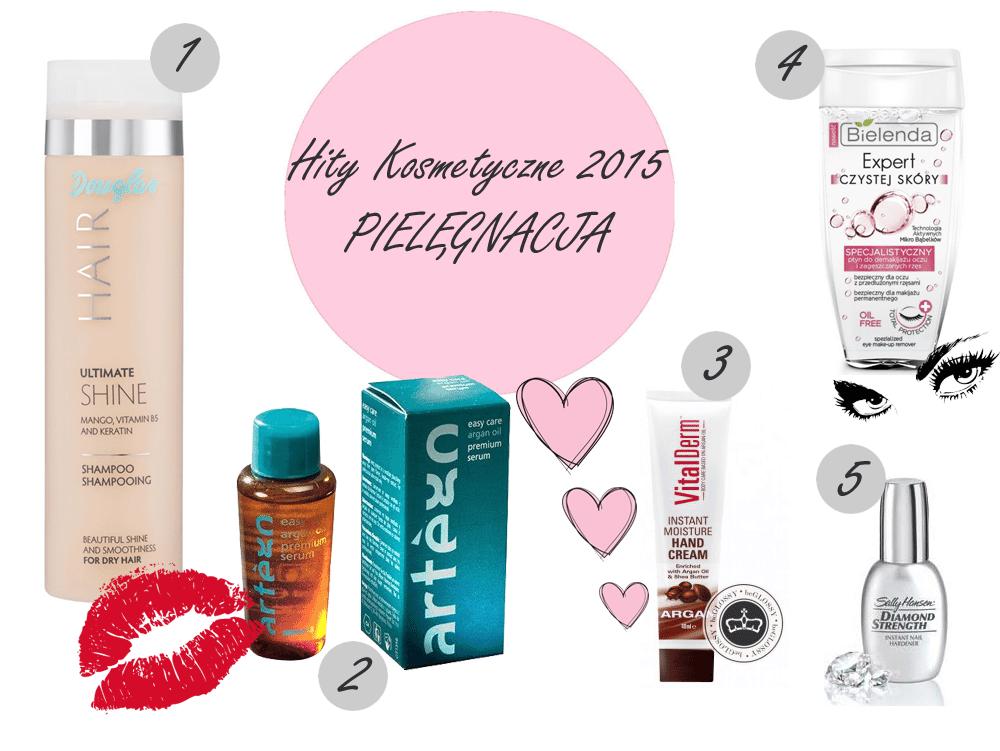 hity kosmetyczne 2015 roku pielęgnacja kosmetyki