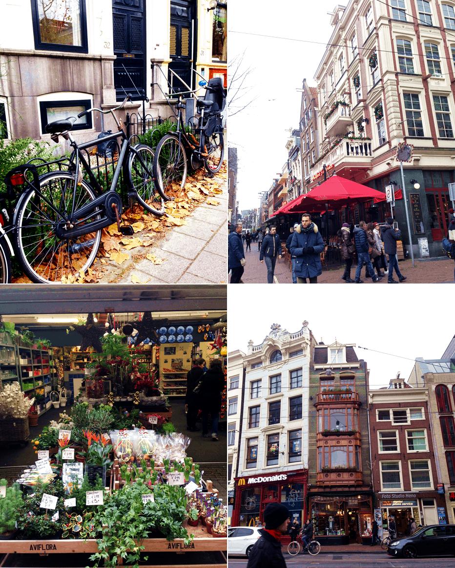 mix zdjęć z weekendu w amsterdamie