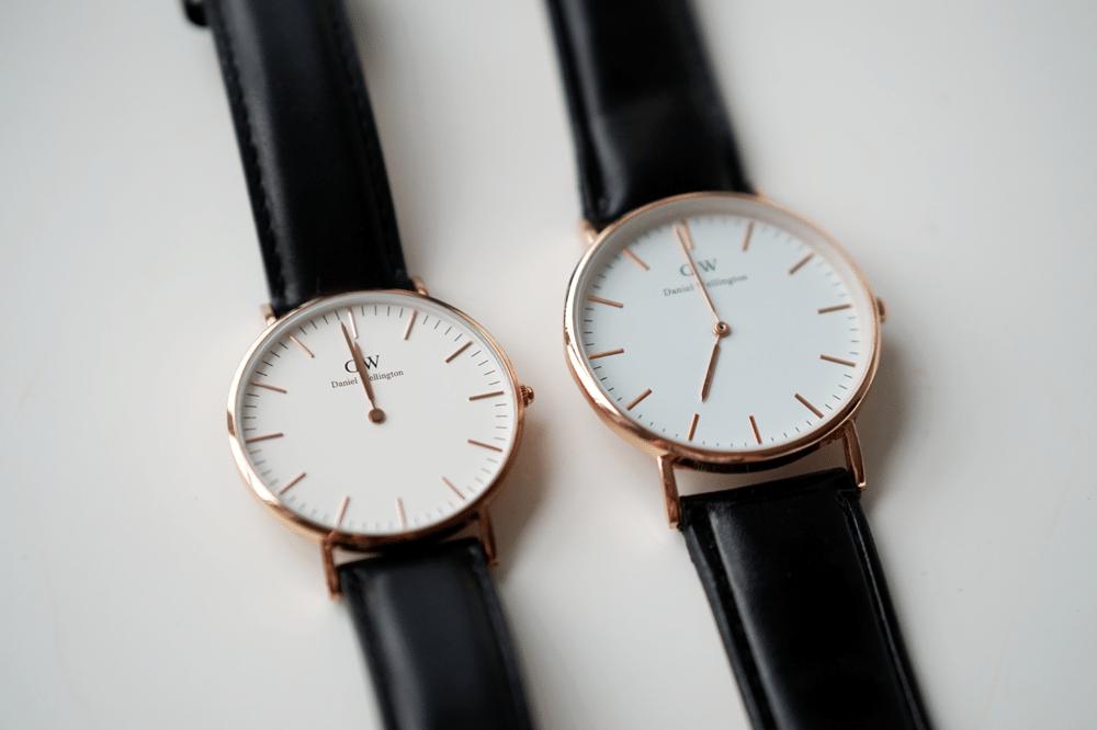 porównanie tarcz zegarków daniel wellington po czym poznać podróbkę fejk