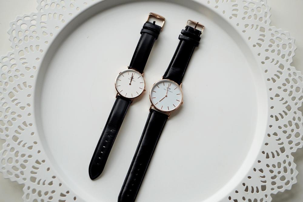daniel wellington zegarek opakowanie
