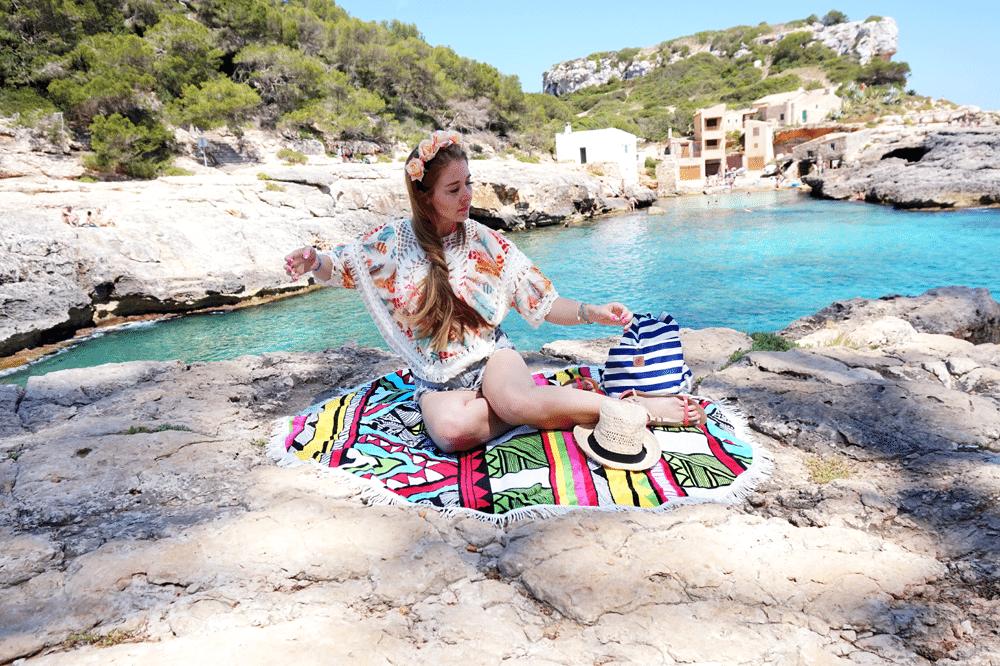 boho top plażowy sheinside wakacje