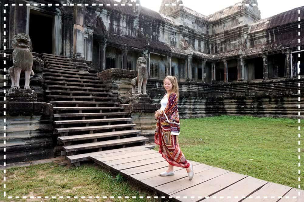 Z Tajlandii do Kambodży – Angkor Wat: cud świata, syf, malaria i korniki