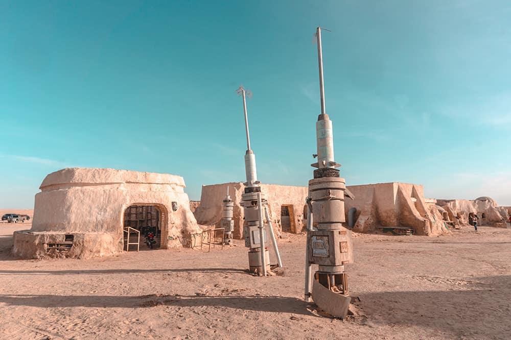 Star Wars plan zdjęciowy tunezja