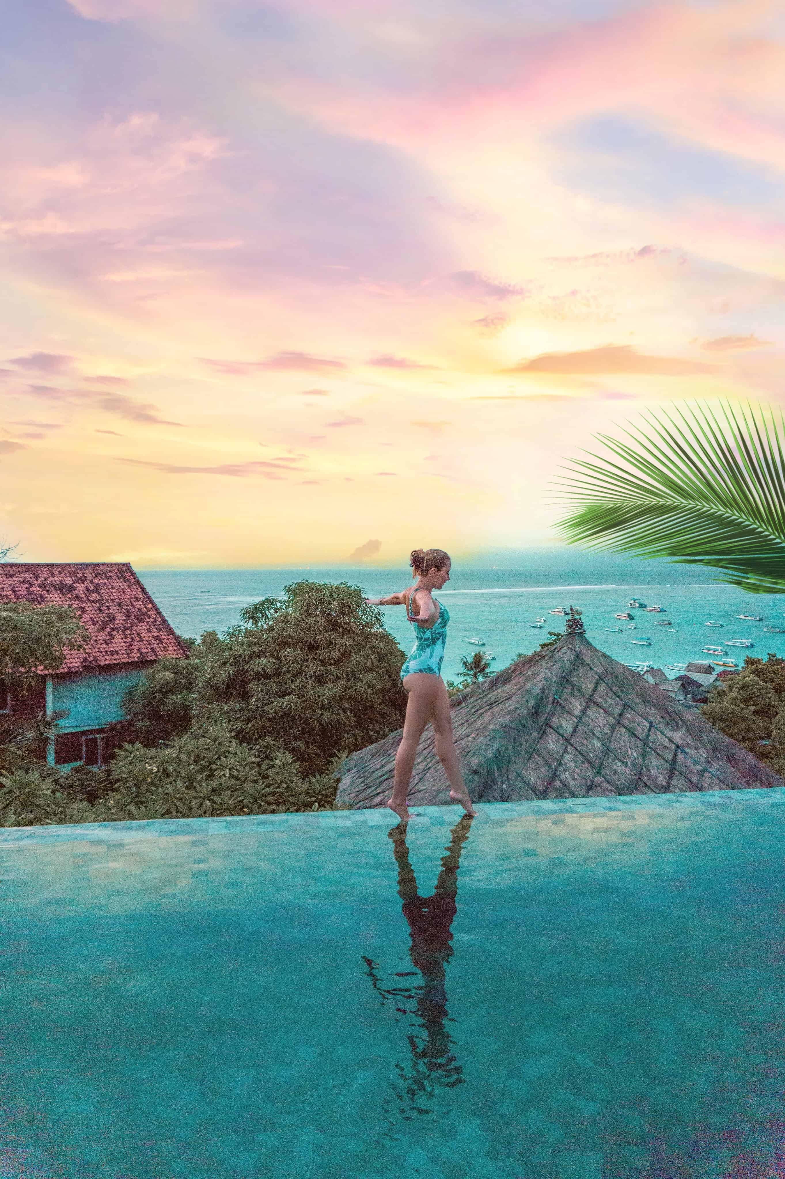 the tamarind hotel Lembongan pool