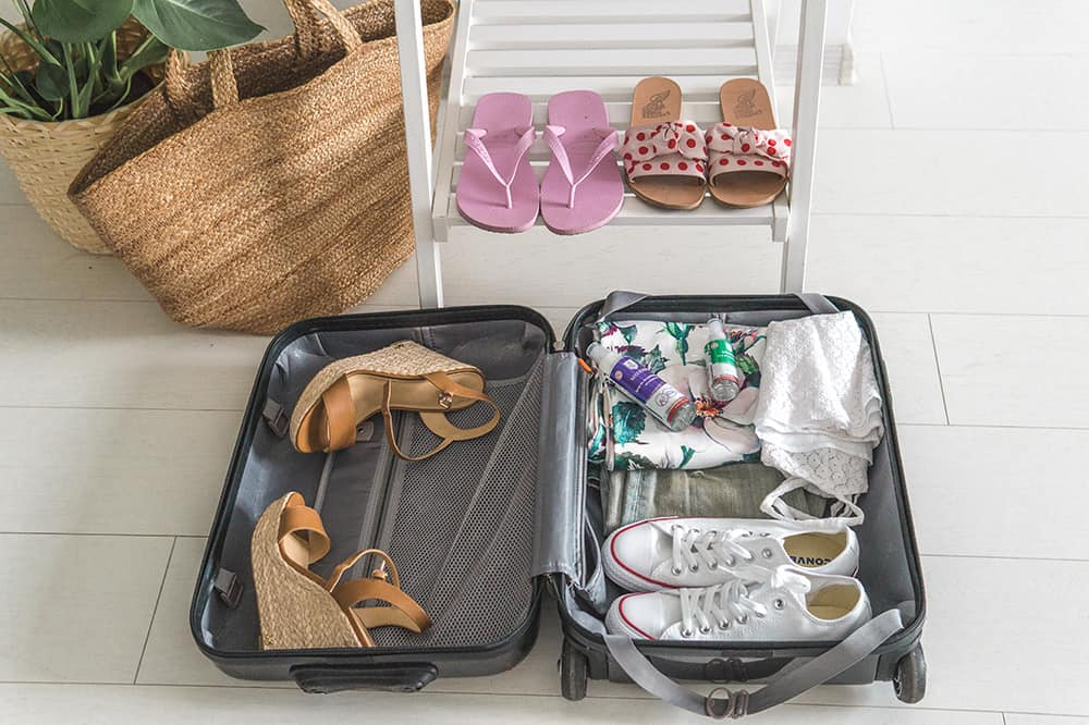 jakie buty spakować na podróż medisept