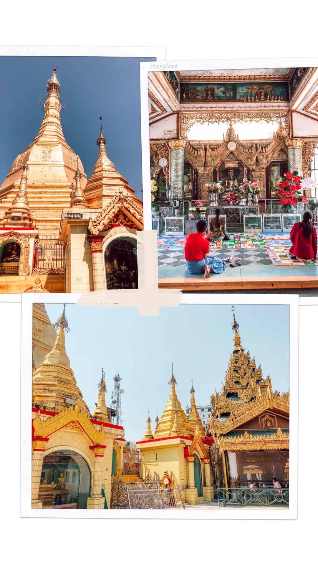 Co zobaczyć w Yangonie Sule Pagoda