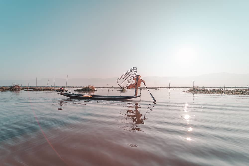 idle local fishermen