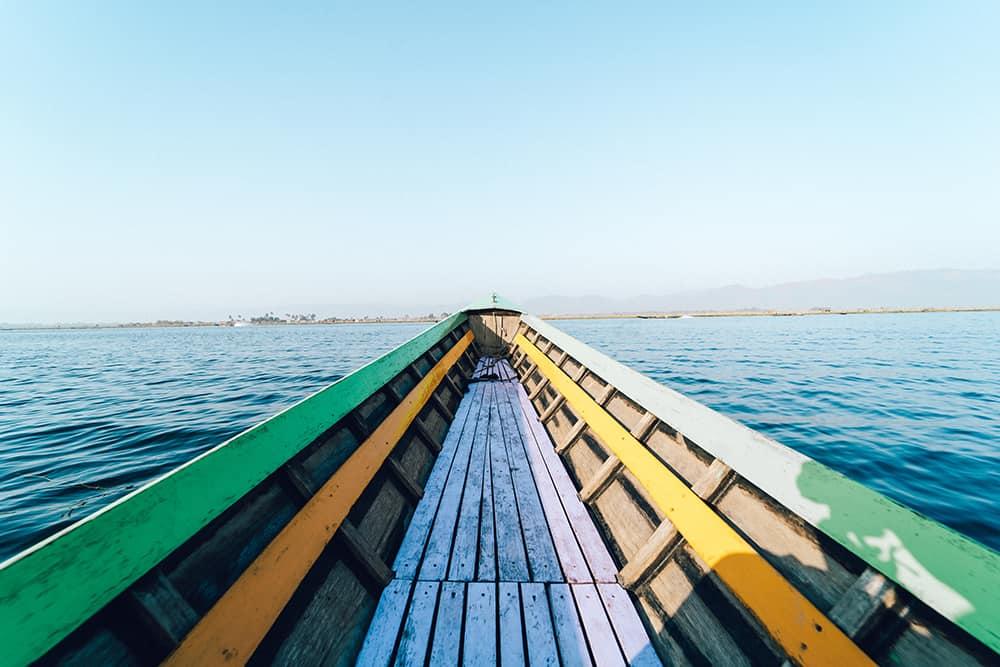 łódka inle