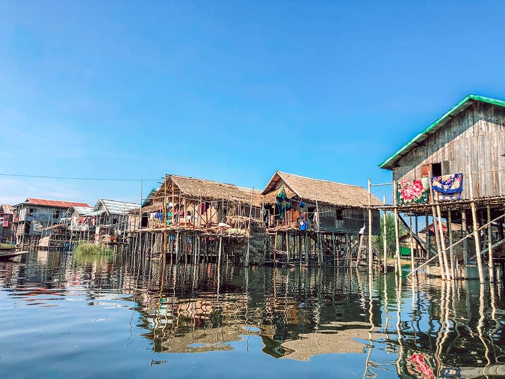 plan zwiedzania Inle wioska rybacka