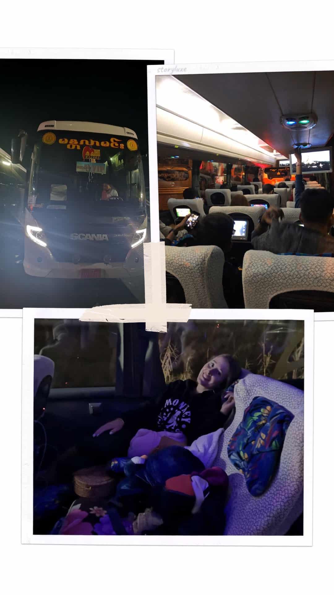 nocny autobus Birma