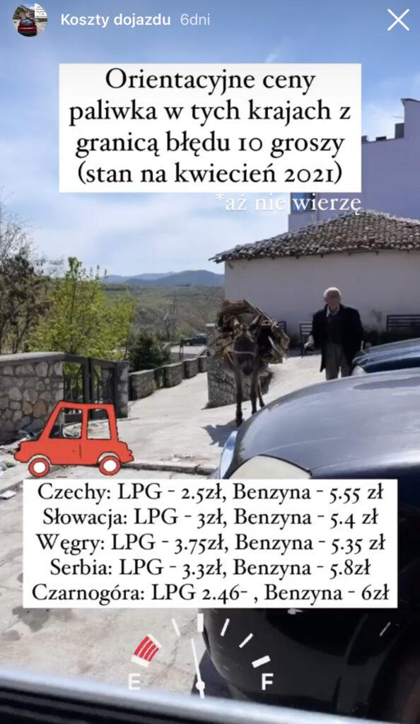 Albania dojazd 2021